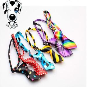 Pet Tie Nueva ajustables del perro de peluche mascota y estética de la pajarita linchamiento Ropa juguete del perrito Lazo del perro preparación fuentes LXL1108-1