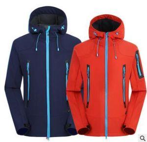 Mode - livraison gratuite 2019 vêtements de plein air de mode coquille souple chaud chaud coquille souple saisissant veste vêtements de ski alpinisme vêtements de camping