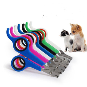 Nail Pet Dog Cat Cutter animal griffe Toe Clippers chien soutiers Toilettage Ciseaux Toe soins en acier inoxydable Nailclippers LX5692