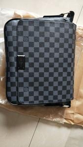 2020 Tasarımcı Lüks Moda Omuz Çantası Erkek Deri Çanta Erkek Laptop Çanta Crossbody Bag15
