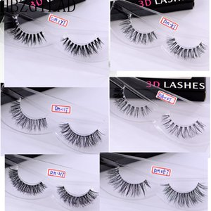NEW Mink Eyelashes Clear Band Eye Lashes Crisscross Transparent Band False Eyelashes Handmade Dramatic Lashes Upper Lash