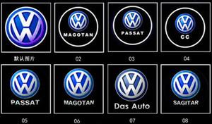 Alta qualidade para VW Golf 5 6 7 Tiguan Touareg Jetta MK5 MK6 CC Passat B6 B7 Sharan Scirocco EOS porta do carro LED de aviso Logo luz do projetor