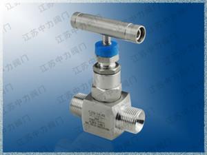 Stainless steel ferrule valve 316L card sleeve needle valve 316L ferrule valve manufacturer