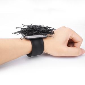Professionelle Salon Haarschmuck Magnetische Armband Handgelenk Band Strap Gürtel Haar Clip Halter Friseur Friseur Styling Werkzeuge
