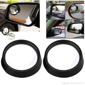 2 piezas de espejo retrovisor del coche del coche auto ajustable retrovisor lateral Blind Spot Gran Angular envío libre de DHL
