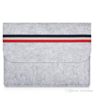 Caso shopitem MacBook Air Woolfelt Capa protetora para Apple Macbook Air Pro Retina 11 13 polegadas, sacos luva do portátil para mac 11,6 13,3 polegadas