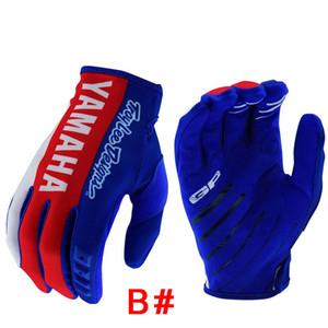 Ямаха велосипедные перчатки на открытом воздухе мотокроссу горный велосипед полный палец перчатки женщины мужчины моды легкий вес для весенних летних перчаток