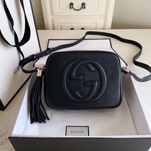 High Quality New Designer Luxury Women Handbags Famous Gold Chain Shoulder Bags Crossbody Soho Bag Disco Shoulder Bag Purse Wallet 4 colors