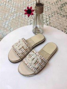Xshfbcl New 2019 Fashion Women Designer Sandals Luxury Mens Flip Flop Designer Sandals High Quality Designer Slides Size36-40