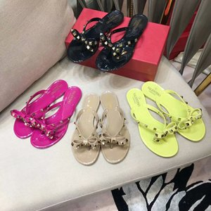 SLHJC Square Toe Mules Slippers Women Summer Fashion Candy Color Flats Sandals Jelly Slides Holiday Beach Shoes