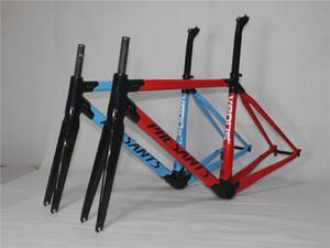 2019 PHESANTS VENÜS Siyah Mavi / Siyah Kırmızı T800 Karbon Elyaf Yol Bisiklet Çerçeve yarışı Bisiklet Karbon Çerçeve İki Yıl Garanti