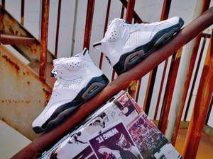 2020 3M 6s JSP Travis Scott Reflective Prata sapatos estrela de basquete 6 Cactus Jack Sports Sneakers infravermelho calçados de atletismo ao ar livre 36-47