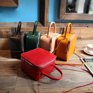 Оригинальные сумки Кожаные YIFANGZHE Женские, Маленькие девочки Crossbody сумки Кошельки / сумки на ремне сумки с регулируемым ремешком