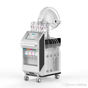 Alta calidad 9 en 1 Multifunción Agua Oxígeno Agua y RF Care Facial Cuidado de la Agua Máquina de Belleza Dispositivo de Remo Beauty Machine