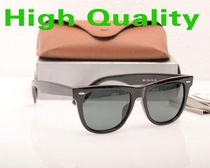 Высокий стеклянный дизайнерский объектив Ray Brand Classic New Glasses Case Fashion Boxs Планка Солнцезащитные Очки Солнцезащитные Солнцезащитные Солнцезащитные Очки с Женщинами Sungle Dhav