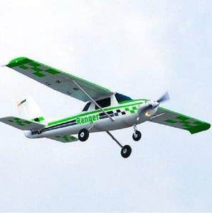 FMS Avião RC Plane1800mm Rangers Treinador Iniciante Com Reflex Gyro 5CH com Flaps 4S PNP Modelo Aviões planos flutua Opcional