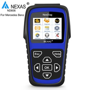 NEXAS ND606 OBD2 Scanner For Car Diagnostic tool Oil ABS EPB SAS Reset Battery Tester Free Update OBD OBD2