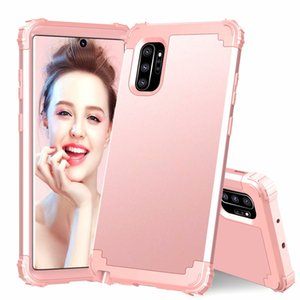 Anti-choc hybride robuste armure silicone Defender pour Samsung Galaxy Note 10 Plus S10e S10 plus Note 9 S9 S9 + S8 Note8