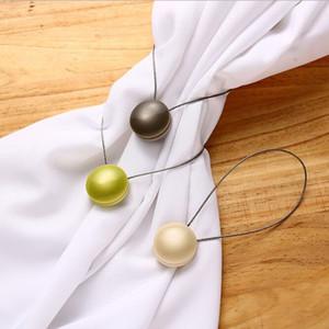 3pic cat eye magnete tenda chiusura fibbia tenda loop corda camera da letto cordino fibbia della cintura
