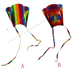 HIINST 2020 нового милого мультфильма для детей Красочные мини карманных Kite Открытого Fun Спорт Software Kite Flying High Quality Gift