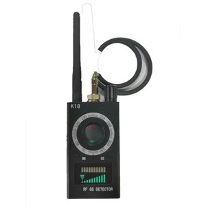 Rilevatore di telecamere multifunzione K18 1 MHz-6.5GHz Camera GSM Finder Bug audio Lente segnale GPS Tracker RF Rileva prodotti wireless