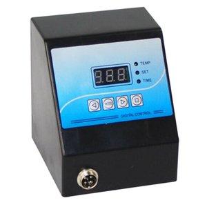 Digital Control Box Heat Press Digital Temperature Controller for Mug Plate Stone Photo T-Shirt Black