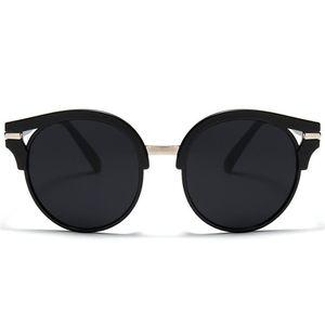 Fashion Women & Men Retro Sunglasses Black Frame Sun Glasses Anti-UV Spectacle Color Film Eyeglasses Goggle SUN Glasses A++