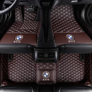 tappetini personalizzati dell'automobile per BMW 3 5 7 Series F20 E90 F30 E60 F10 F11 G30 F01 G11 X1 X3 X4 X5 X6 F48 E83 F25 E70 E71 F15 F16