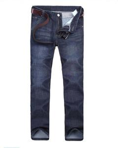 8151 AJ-Jeans ilkbahar ve sonbahar Pantolon Kalın kadife pantolon Erkek pantolon Stretch kot pamuk pantolon pantolon düz casual yıkanır