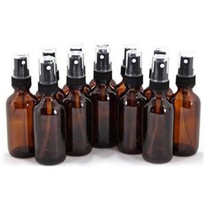 Mini Spray Bottle 10 15 20 30 50 100ML Empty Amber Glass Bottle Essential Oil Mist Spray Container
