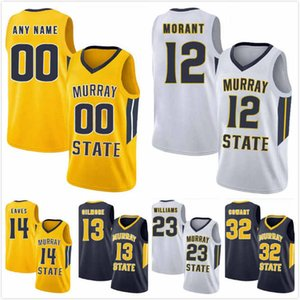 Custom Murray State Racers Darnell Cowart Jersey 32 Jaiveon Eaves 14 Brion Whitley 22 KJ Williams 23 Tevin Brown 10 Devin Gilmore 13 S-3XL
