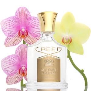 Creed Perfume para mulheres 75ml aventus para ela, eau de parfum sândalo e musk