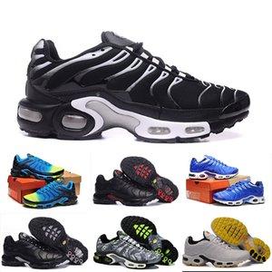 Nike Air max TN 2019 TN Artı PRM Miras Ve Yenilik Kireç Patlama Ve Platin Tonu Siyah Beyaz Patlama Sarı Erkek Kadın Tasarımcı Koşu Ayakkabıları