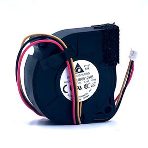Nouveau Delta BUB0512HB 5CM 5015 ventilateur ventilateur de refroidissement de turbine centrifuge 12V 0.24A