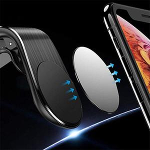 Universal-Metall Auto-Telefon-Halter Magnetic Saugnapf Typ Air Outlet-Telefon-Halter-Miniclip-Berg Mobilstandplatz für Smartphone