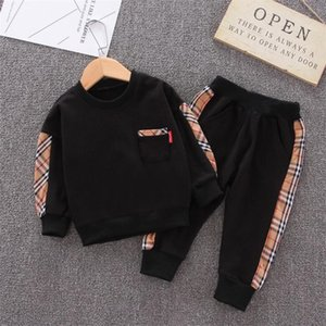 Baby Boy Girl Designer Clothes Fashion Children T-shirt Pants 2pcs Sets Toddler Cotton Suits Kids Clothing Set Infant Cartoon Tracksuit
