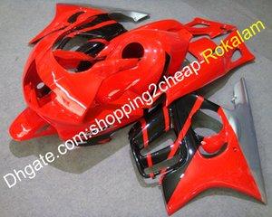 Motosiklet Fairing için Honda CBR600 F3 CBR600F 3 1997 1998 CBR 600 97 98 Motosiklet ABS Kırmızı Gümüş Siyah Cowl (Enjeksiyon kalıplama)