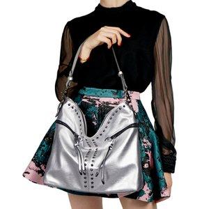 Wholesale woman tote shoulder leather handbag