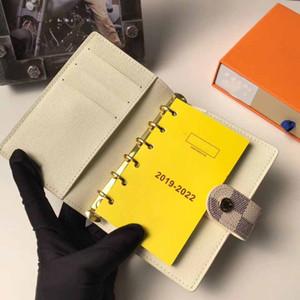12 نموذج صغير RING جدول الأعمال تغطية مصمم إمرأة رجل الدفتري الائتمان مع صندوق