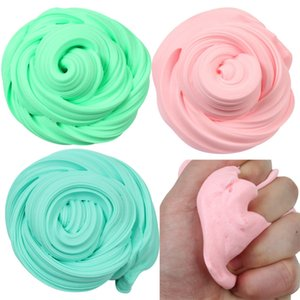 Beautiful Color Mixing Cloud Slime Other Toys Squishy Putty Scented Stress Kids Clay Toy Colorful rainbow Cloud Slime Clay anti Stress 610