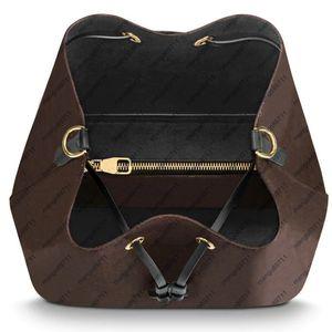 Mulheres Bolsas Bucket Bag de alta qualidade bolsa de couro Design clássico de Bandoleira Sacos Lady Bolsas Dropshipping