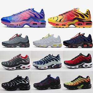 2020 Nuovo TN oltre a scarpe da corsa delle donne degli uomini bianco nero SUNBURST Red Metallic Bronze APPENA VOLT verde elettrico sport sneakers formato 36-46