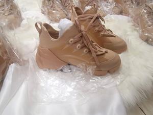 Luxury casual shoes man unisex D-connect neoprene sneakers woman pvc Transparent glue block