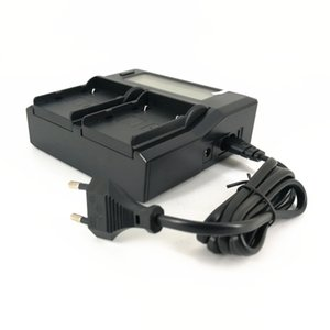 LCD Dual Battery Charger + Charging Cable for Canon BP-A30 BP-A60 BP-A90 A90 A60 A30 C500II C300 Mark II C200 C200B