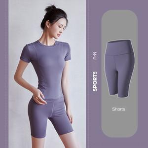 ecCF0 Женщины высокой талией Pant Йога Спортивный зал Лук Digital Printed штаны Hip Lifter Упругие Workout Спортивное Леггинсы Лосины