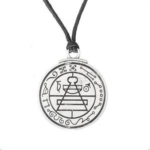 W2 Viking Charm Solomon Mühür Desen Runes vintage Wiccan Dini Kolye