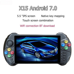 Powkiddy X15 Andriod Handheld Game Console 5.5 INCH 1280*720 Screen quad core 2G RAM 32G ROM Video Handheld Game Player 1pcs