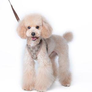 Retro Pattern Coleira macio e confortável cão de pano Corda terno que anda Segurança Dog ajustável Pet Vest Arreios Leashe