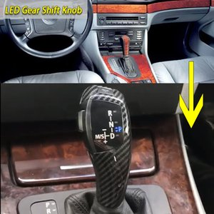 LED Gear Shift Knob Shifter Lever Automatic Shift for BMW 1 3 5 6 Series E90 E91 E60 E61 E63 E46 2D 4D E39 E53 E92 E87 E93 E83 X3 E89 Z4 X5