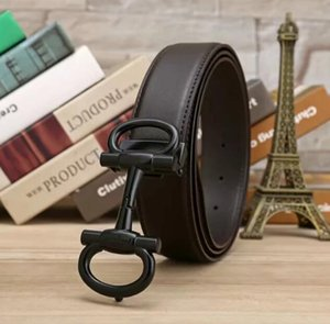 Hot New classic Black Luxury High Quality ceinture With Box Designer Belts Fashion Brand buckle belt mens womens belt